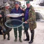 Dutch anglers at salmon falls